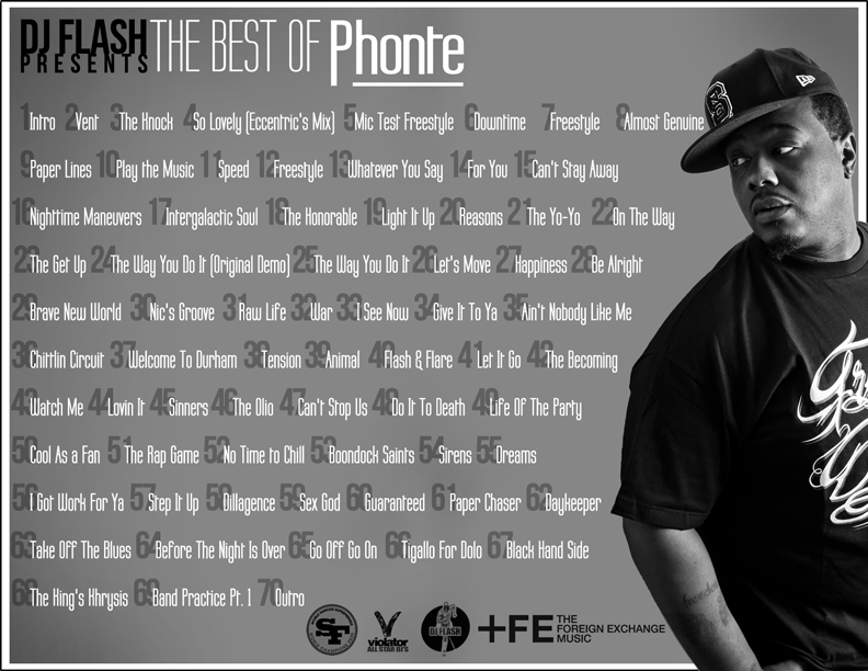 The Best of Phonte Tracklist